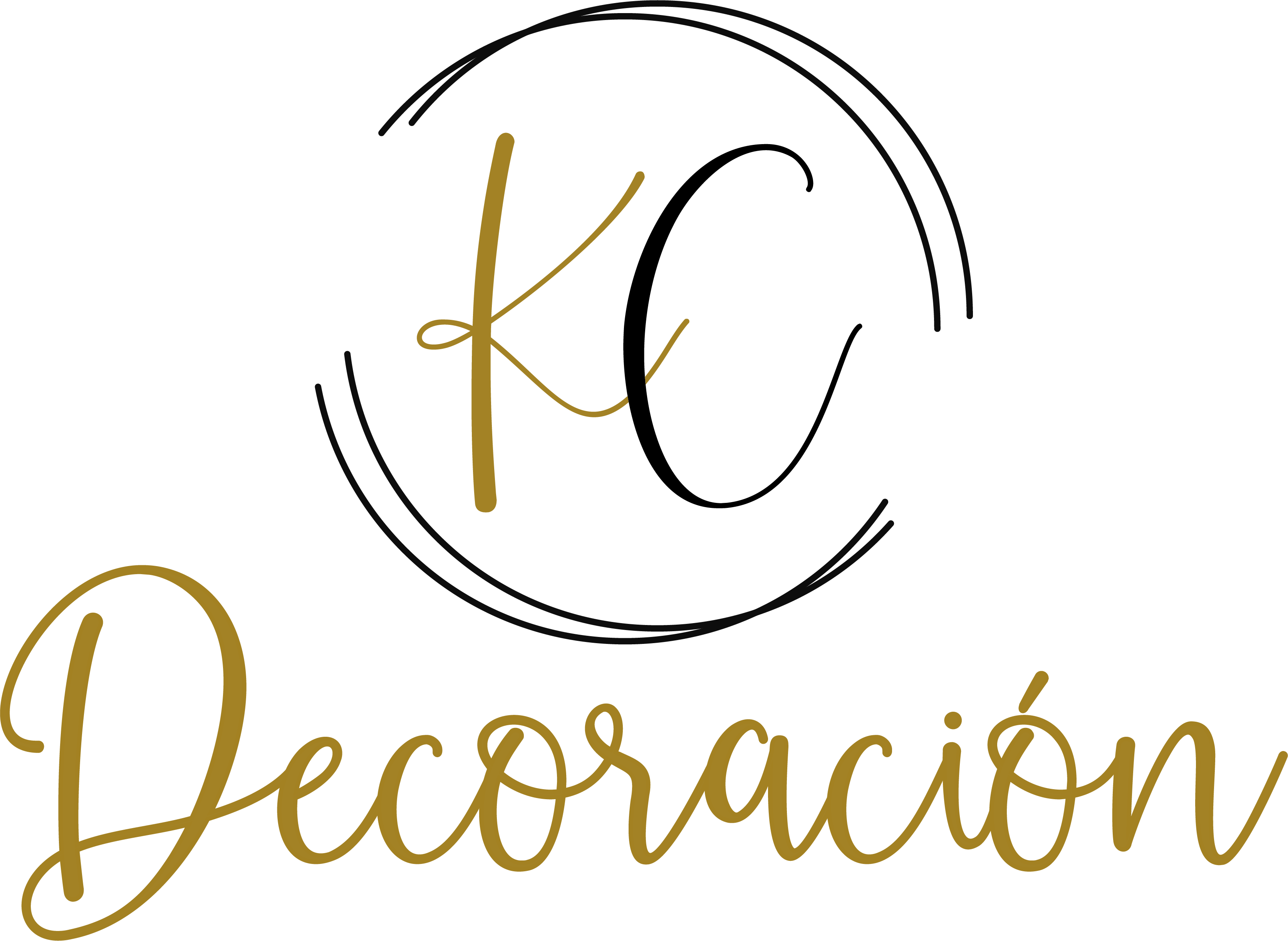 KC Decoración Logo